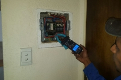 Electrical installations at Wessex Gardens in Smith street Edenglen002