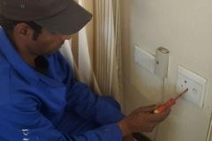 Electrical installations at Wessex Gardens in Smith street Edenglen005