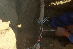 Electrical Installations did a repair Cable Joint 16 mm 4 core in Atlasville area024