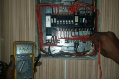 Electrical installations in Tiller Street006