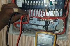 Electrical installations in Tiller Street012