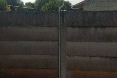 electrical installations fence are situated in Marie street New Estates Springs005