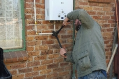 Electrical Installations Gas geyser installation002