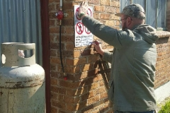 Electrical Installations Gas geyser installation003
