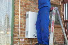 Electrical Installations Gas geyser installation006