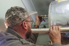 Electrical Installations Gas geyser installation009
