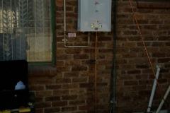 Electrical Installations Gas geyser installation013