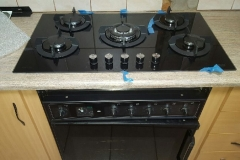 Electrical Installations Gas stove hob installed at Dirk van der Hoff street Brakpan010.jpeg