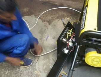 electrical installations Generator installation at Paul Kruger St Dalviewh02