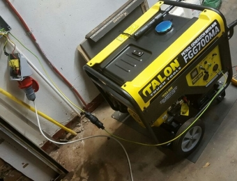 electrical installations Generator installation at Paul Kruger St Dalviewh04