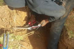 Electrical Installations did a repair Cable Joint 16 mm 4 core in Atlasville area011