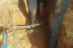 Electrical Installations did a repair Cable Joint 16 mm 4 core in Atlasville area012