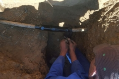 Electrical Installations did a repair Cable Joint 16 mm 4 core in Atlasville area028