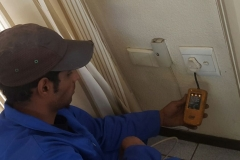 Electrical installations in Tiller Street001