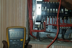 Electrical installations in Tiller Street005