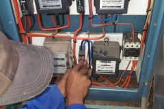 Electrical installations in Tiller Street009