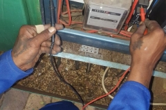 Electrical installations in Tiller Street010