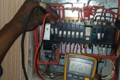 Electrical installations in Tiller Street011