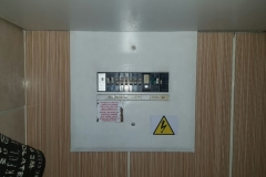Electrical installations in Tiller Street015