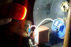 Electrical Installations replaced a geyser element in Denne Road Brakpan006