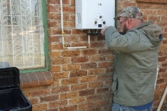 Electrical Installations Gas geyser installation001
