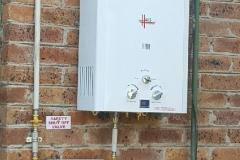 Electrical Installations Gas geyser installation007