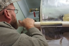 Electrical Installations Gas geyser installation010