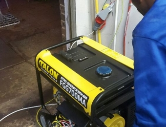 electrical installations Generator installation at Paul Kruger St Dalviewh01